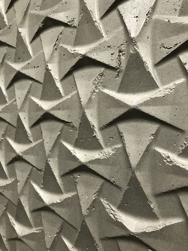 Archoterra - 3D design wall trend at Dwell on Design 2017