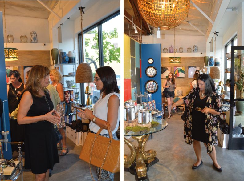 Celebrating the LA launch of CENTURY paint by Benjamin Moore at Cozy Stylish Chic