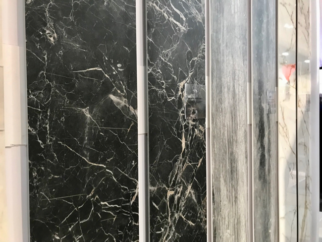2018 tile trends - gauged porcelain tile panels