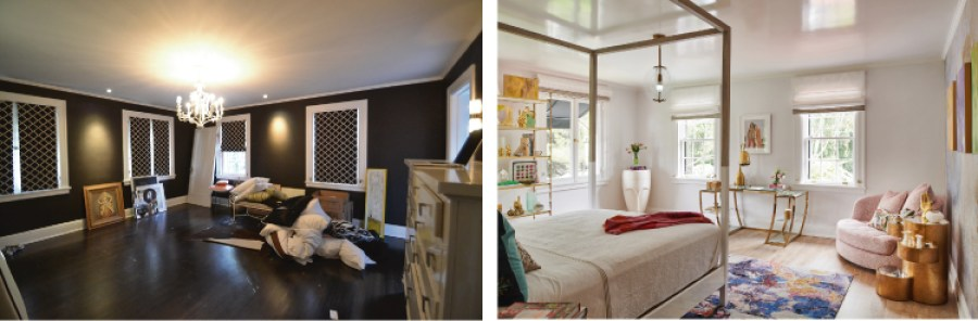 Pasadena Showcase House Before and After-CSC-teen-bedroom