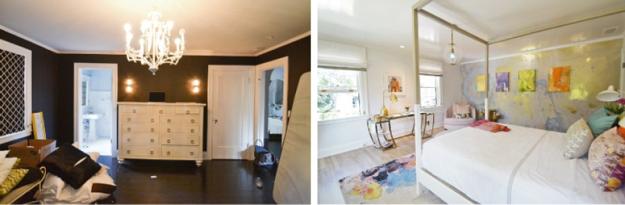 Pasadena Showcase House Before and After -teen-bedroom