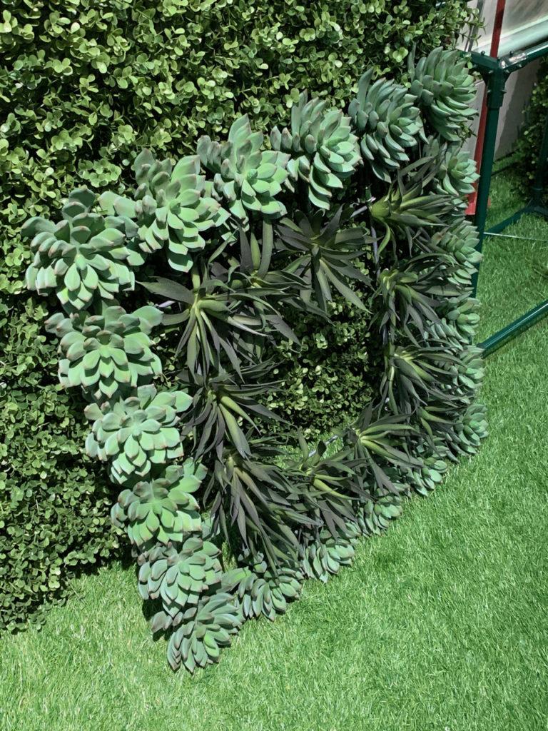 faux specimens lush decoration 2019 spring design trends at Highpoint Market - biophilic design