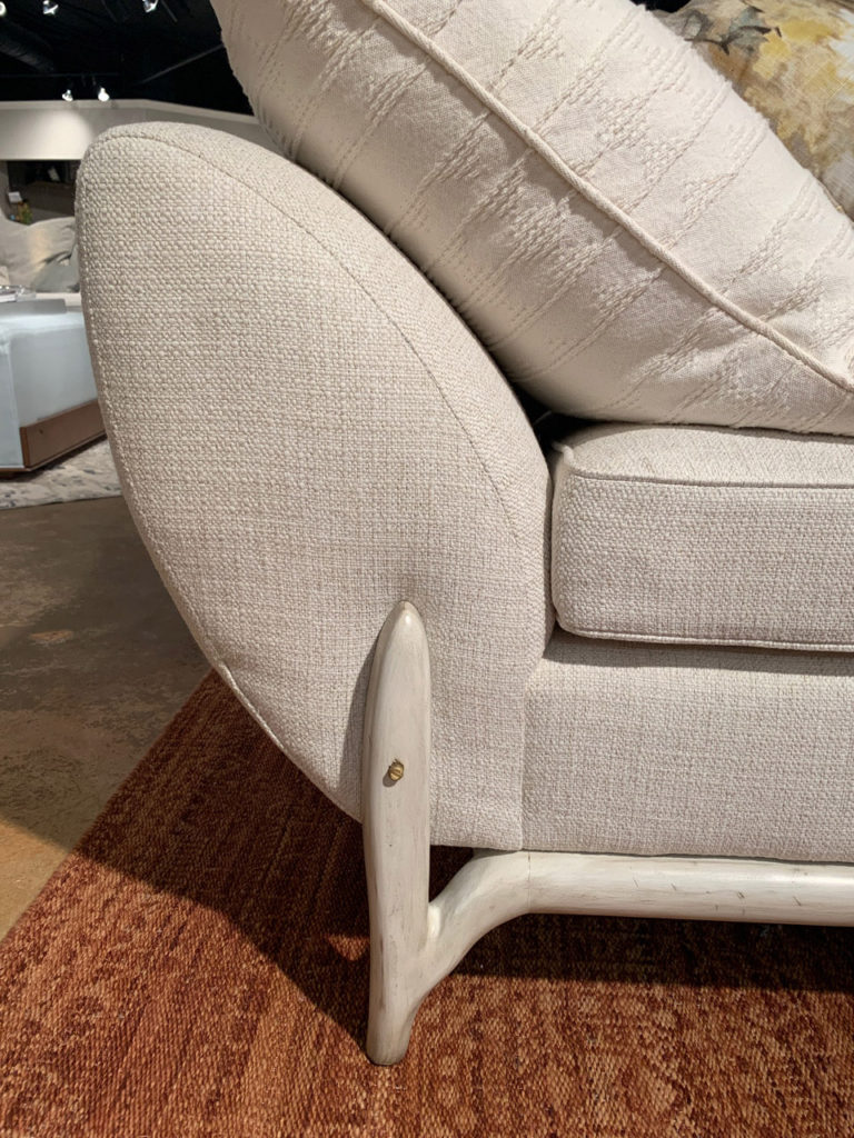Bruce Andrews plump yet petite lounge chair Spring 2019 Design Trends - High Point Market
