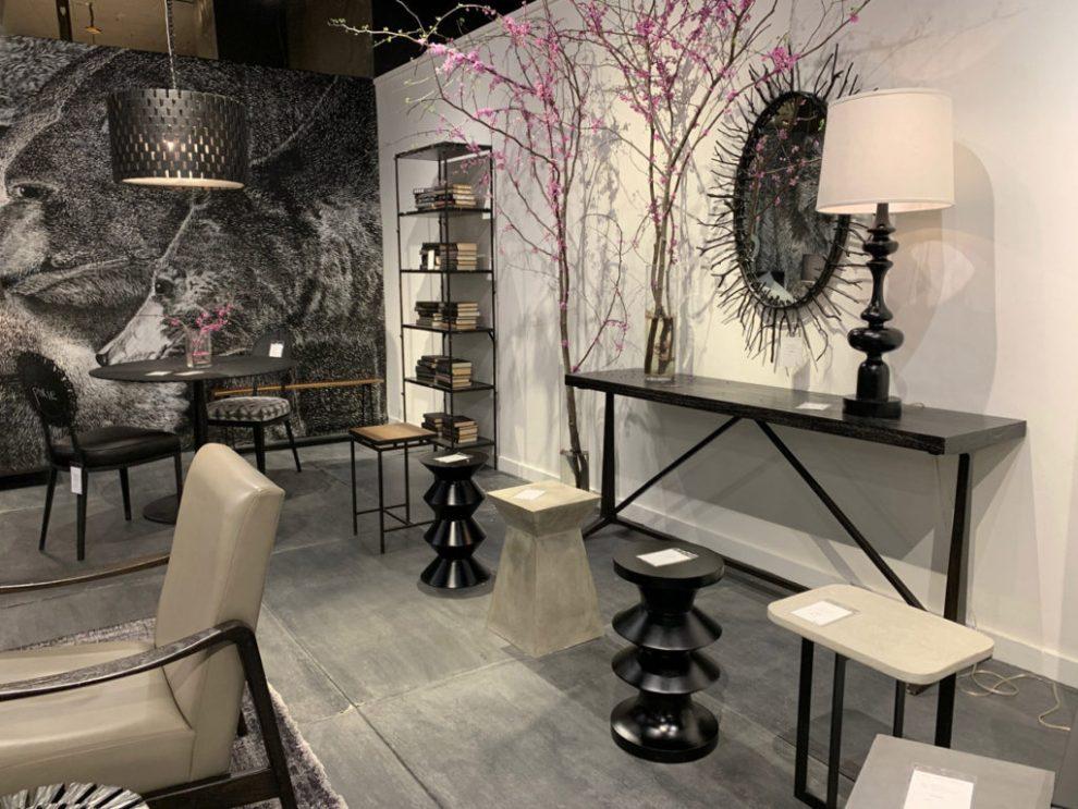 Gothic corkscrew stools Spring 2019 Design Trends - High Point Market