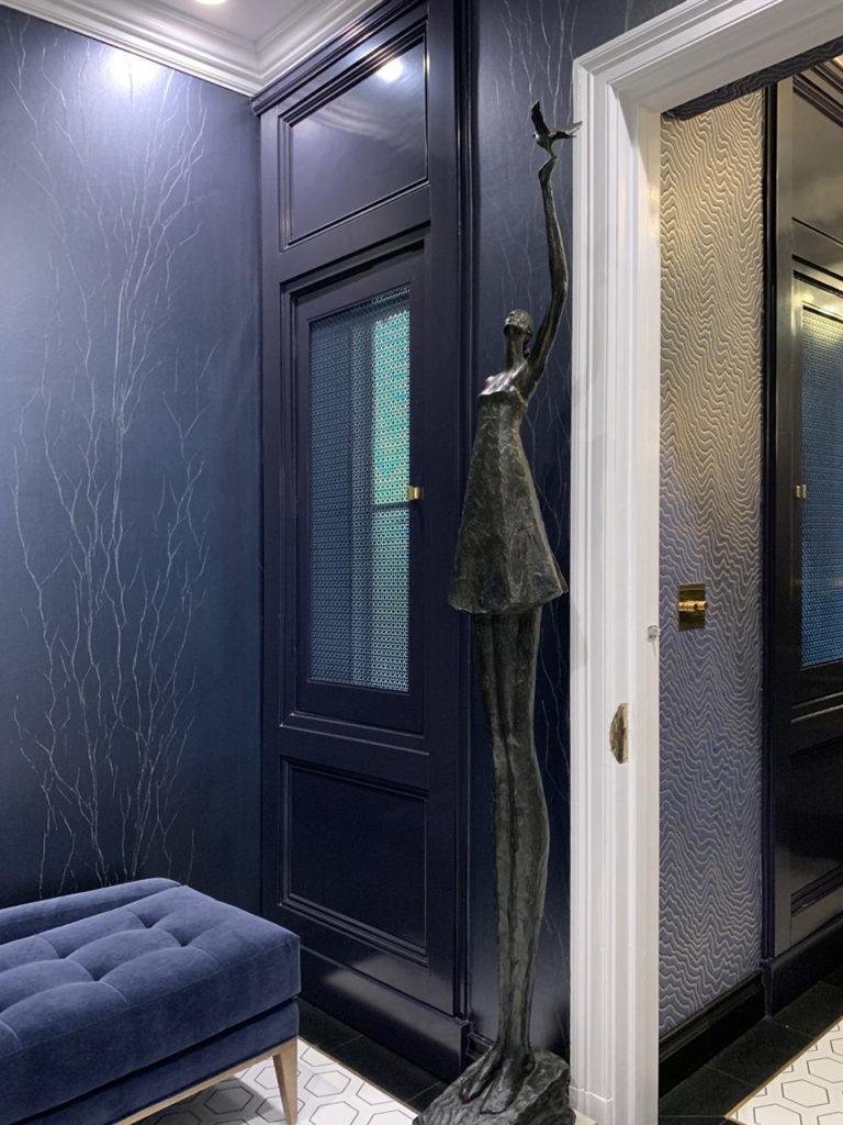 2019 Pasadena Showcase House -powder room