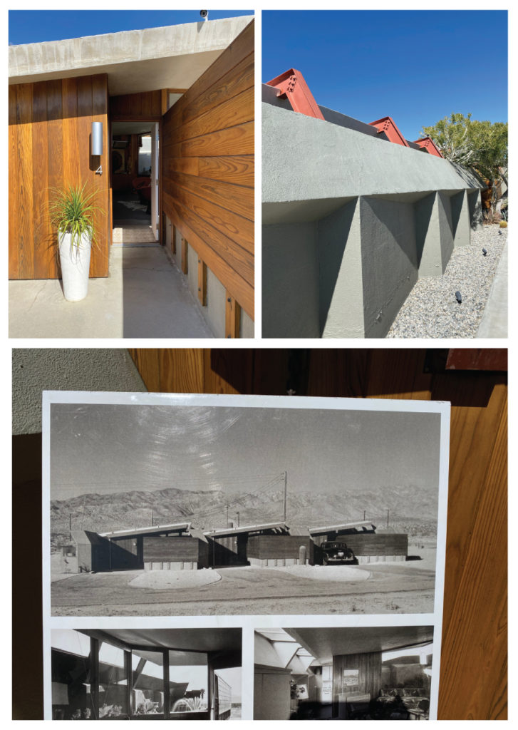 Lautner Compound exterior and before images- Desert Hot Springs
