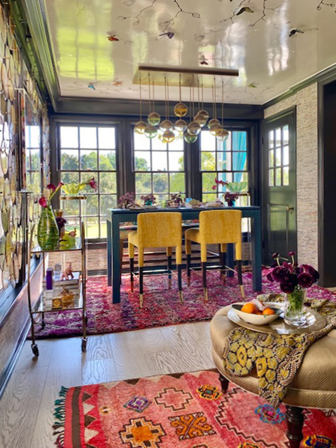 2020 Pasadena Showcase House -Cozy Stylish Chic Breakfast Room