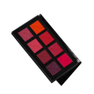 Eyeshadow palette red/orange