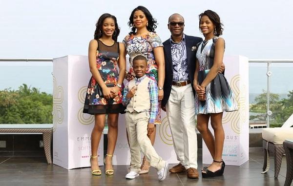 Aminah Sagoe family