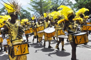 Pix: Cross section Carnival Costume Parading, During the 2013 Annual Lagos Carnival, held at TBC Lagos Island. Photo: Bunmi Azeez