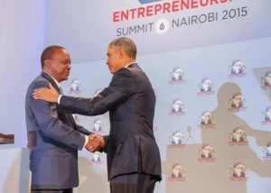 Kenyatta and Obama