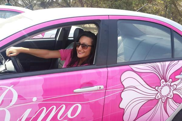 Pink-Taxi