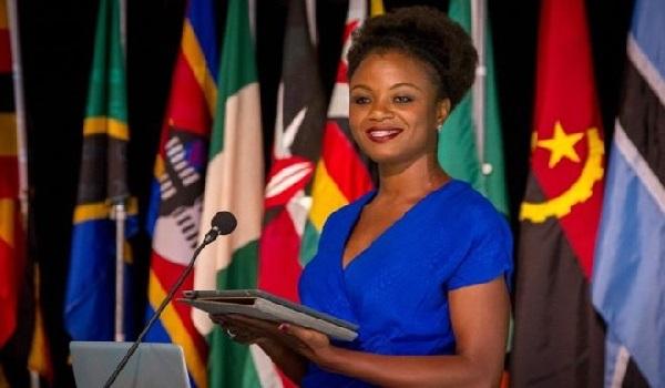 Former Miss Liberia, Miss Patrice Juah