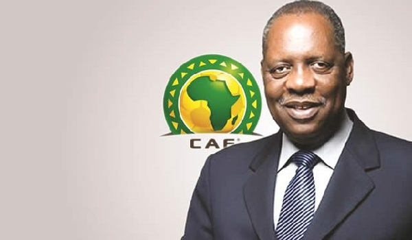 CAF President who is the acting FIFA President, Issa Hayatou Image Credit: CAF