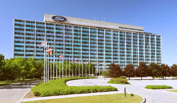 Ford Motors World Headquarters. Image Credit: Forbes