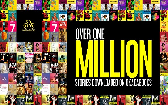 okadabooks one million books milestone