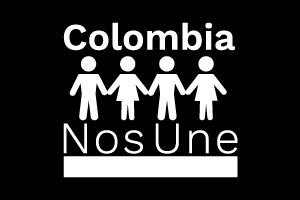 Colombia nos une logo