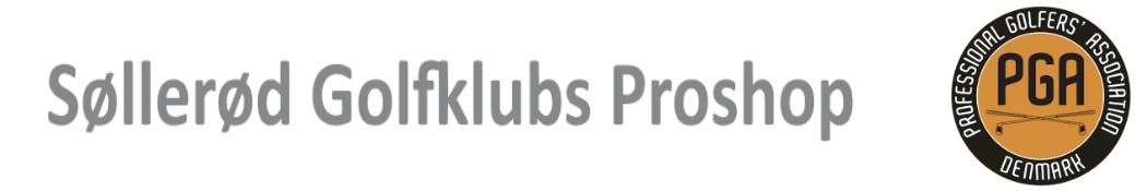 Søllerød Golfklubs Proshop