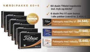 Søllerød Golfklubs Proshop - Titleist Logobolde