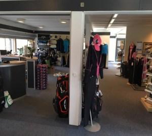 Søllerød Golfklubs Proshop - Den moderniseret Proshop