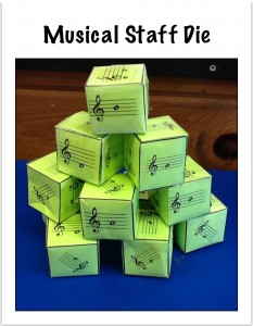 Composing Music on the iPad Using Musical Dice