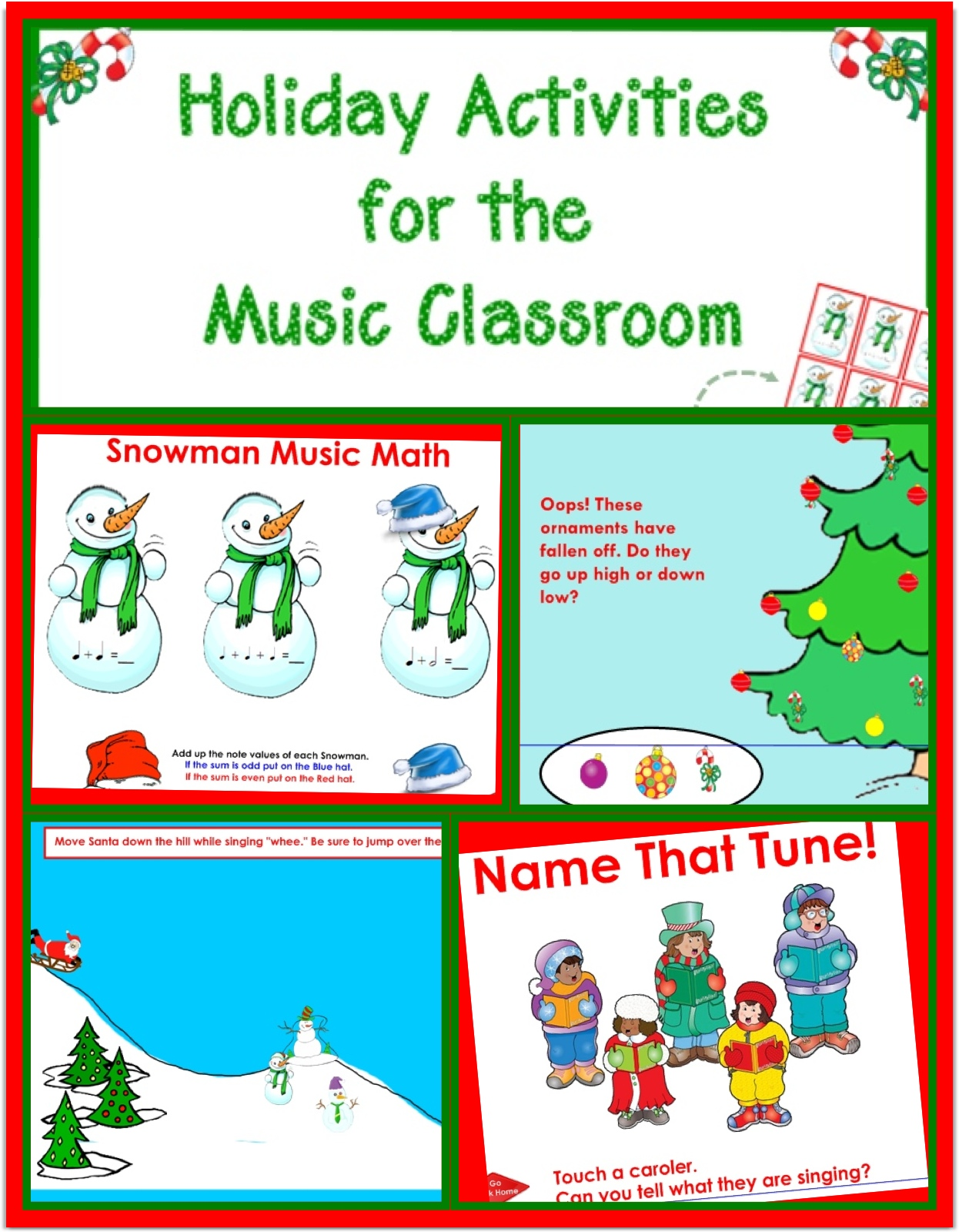 SMARTBoard Holiday Activities for the Music Classroom - cph music