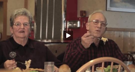 Hilarious Elderly Couple Shoots A Commercial.