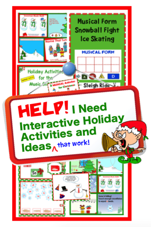 interactive holiday activities ideas