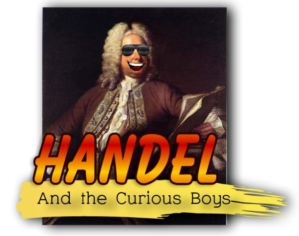 Handel and the Curious Boys logo