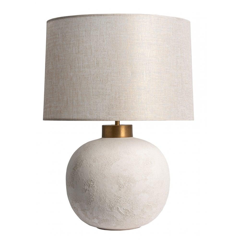 Heathfield Co Terra White Ceramic Table Lamp Shade Interior Lighting From Cp Lighting Interiors Uk