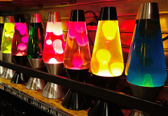 "Source Photo "" Lava Lamps"" : Flickr.com ; Dean Hochman"