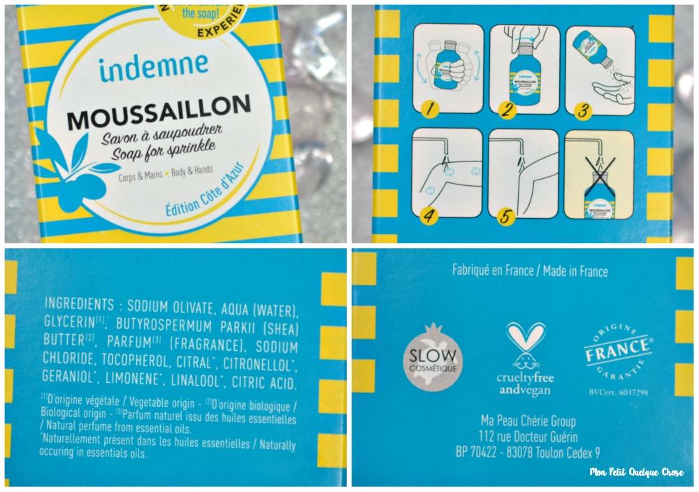 Les Trolettes testent le savon à saupoudrer Moussaillon d'Indemne - Mon Petit Quelque Chose