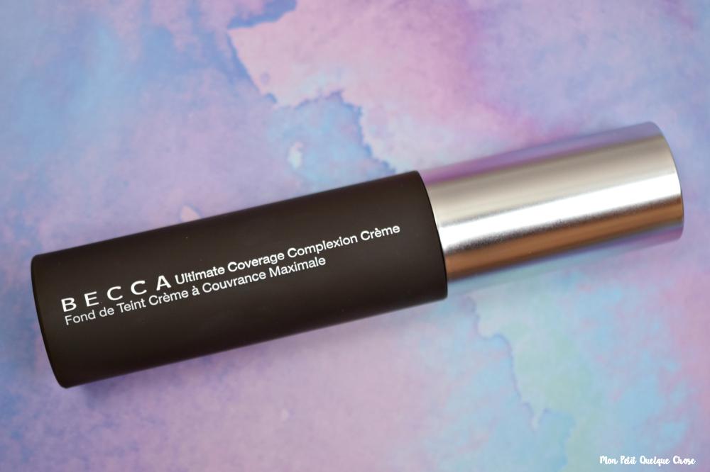 BECCA : CPOP et Ultimate Coverage Complexion Crème - Mon Petit Quelque Chose