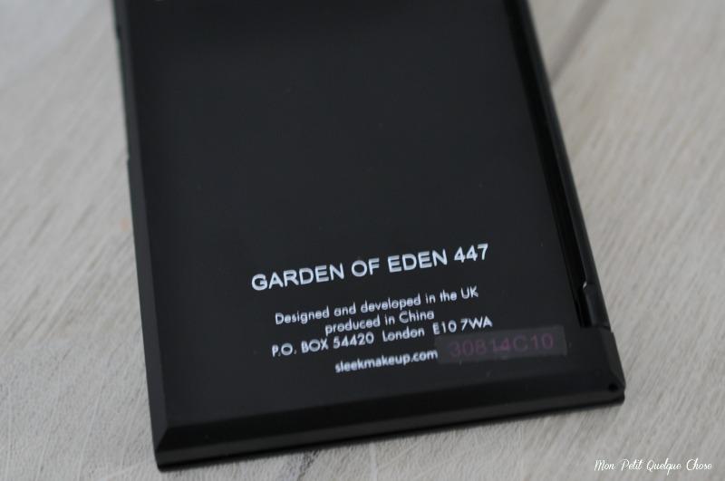 Sleek, Garden Of Eden, Mon Petit Quelque Chose