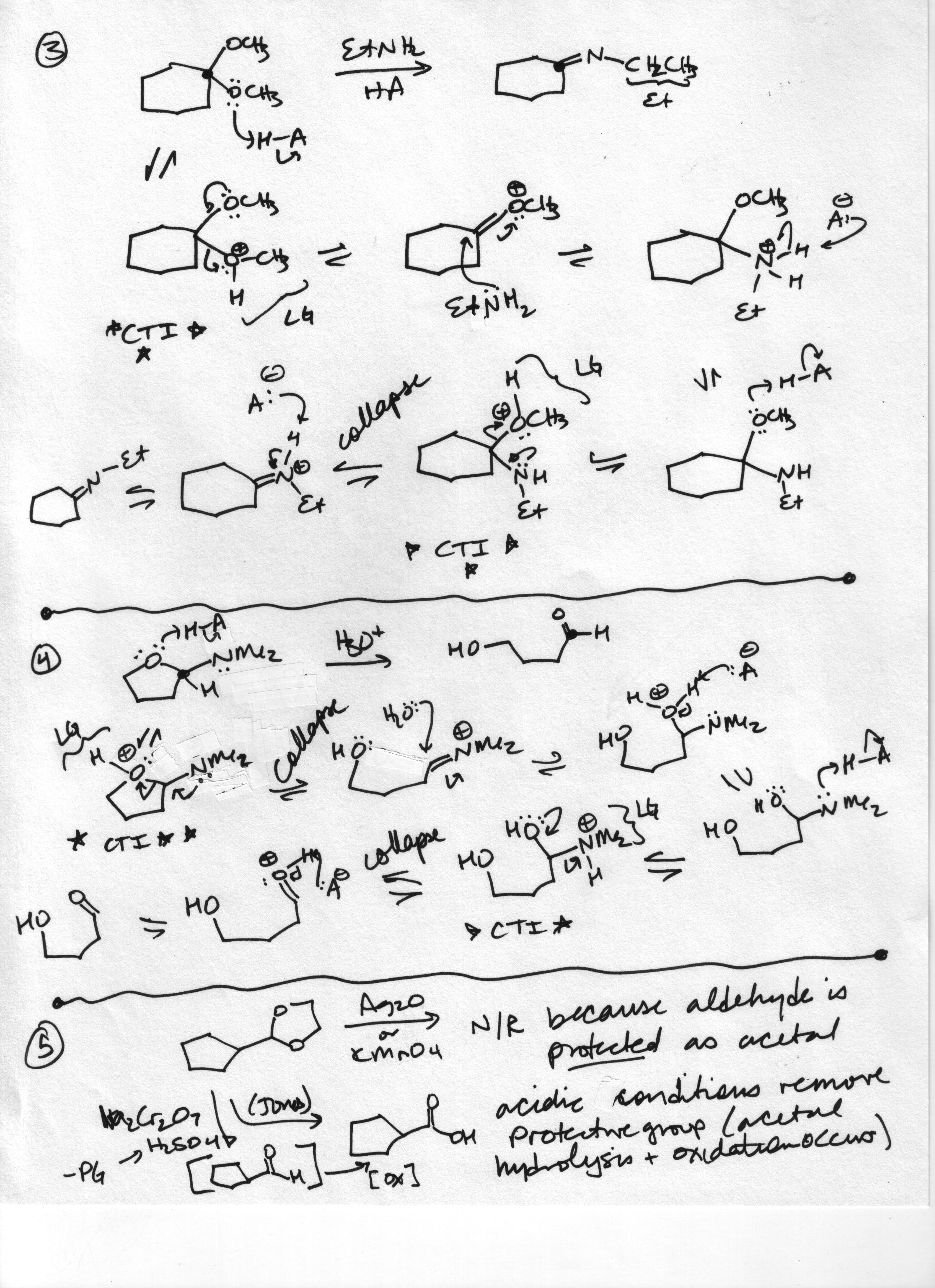 Aromatic Reactions Practice Problems With Answers