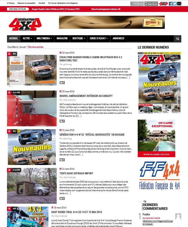Génération4x4mag.fr