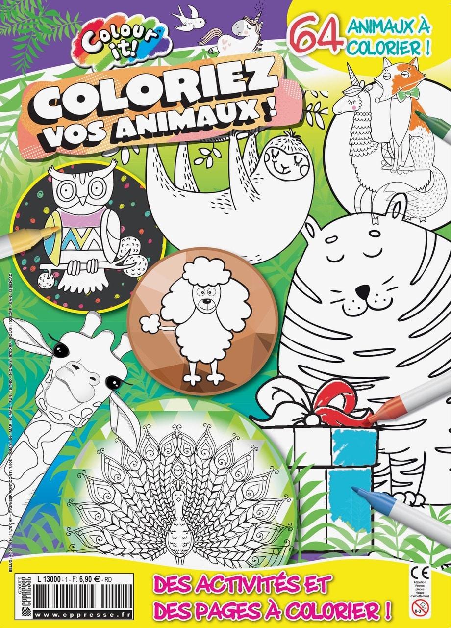 Colour It Vos animaux