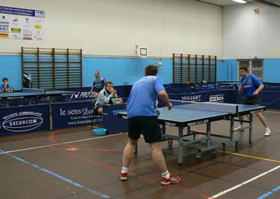 CPQ - Dieppe : Régionale 1 - Tennis de table