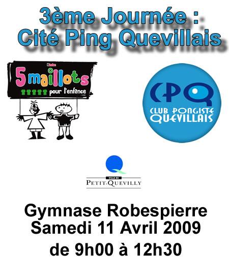 Cité Ping Quevillais - 3ème journée