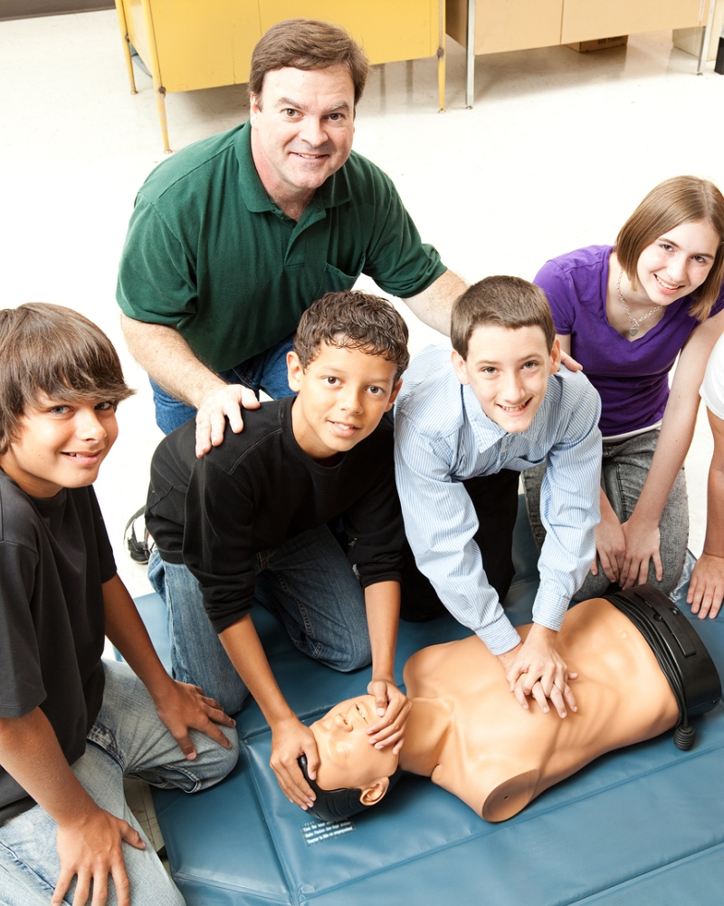 Children can and should learn CPR.