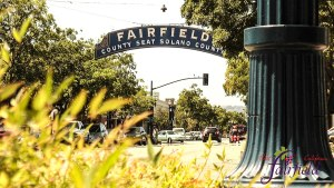 City of Fairfield, CA downtown