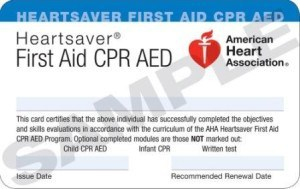 First-Aid-CPR-AED-card