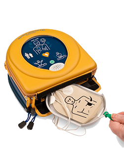 The Heartsine 350P is included in our Readiness Packages.