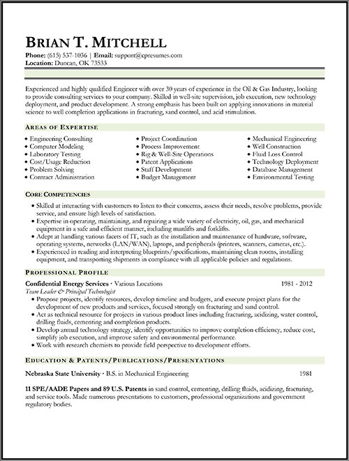 Sample Of A Federal Government Resume. Federal Resumes Samples