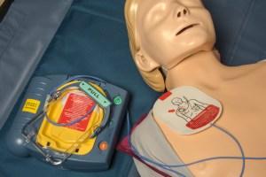 AED defibrillator unit