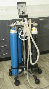 Dental anaesthetics machine