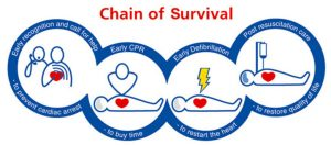 Resuscitation Council Chain of survival