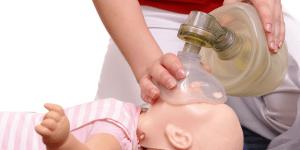 CPR infant - Bag Mask