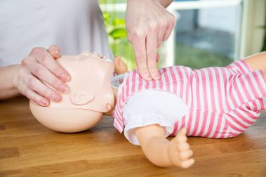 Infant 2 Finger Compressions