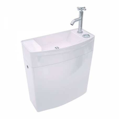 Reservoir Wc Bas Avec Lave Mains Integre Ise O Wirquin Cps Distribution